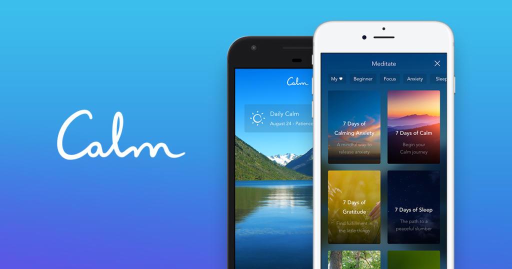 La app de mindfulness Calm obtiene 75 millones de dólares en una ronda de financiación