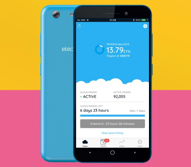 Lanzan el primer smartphone que te paga por minar criptomonedas