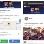 El FC Barcelona lanza una app para los socios y peñistas que viajen con el club