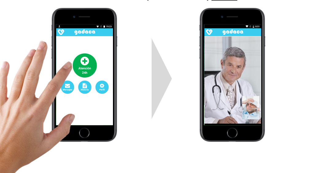 """Gadaca: """"Tener un médico en tu móvil cuando estás enfermo es algo que no tiene precio"""""""