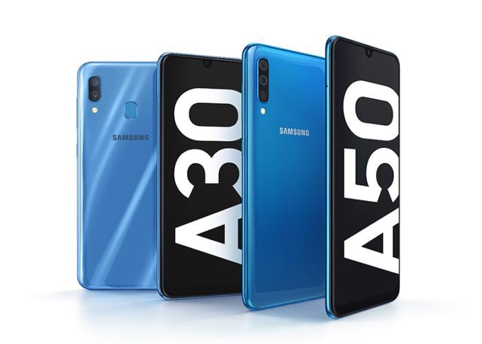 Samsung presenta el rumoreado Galaxy A50 en el MWC
