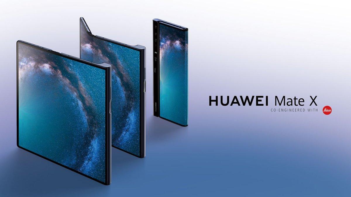 Con Huawei Mate X los smartphones plegables ya son tendencia