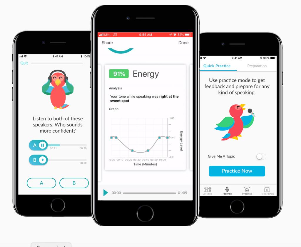 Orai, la app que te enseña a hablar en público, levanta 2,3 millones de euros de fondos