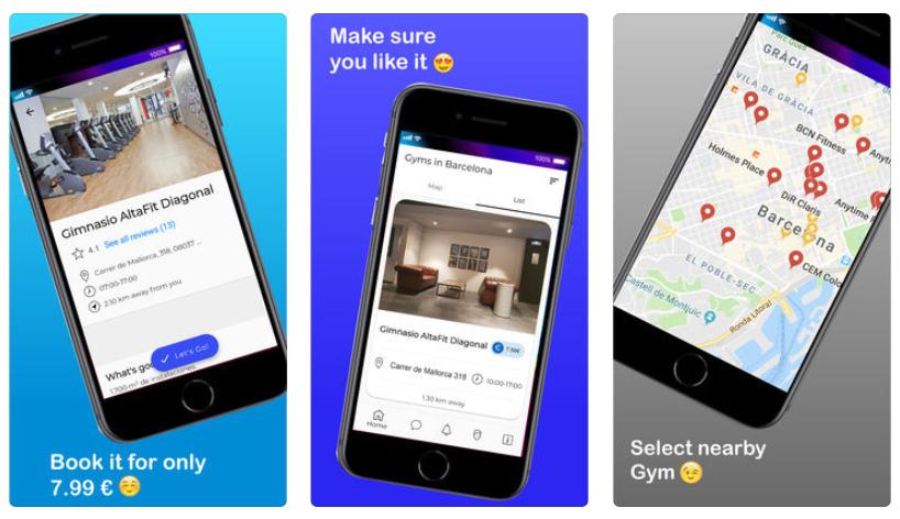 Squat, la app para que puedas ir al gym aunque estés de viaje de curro