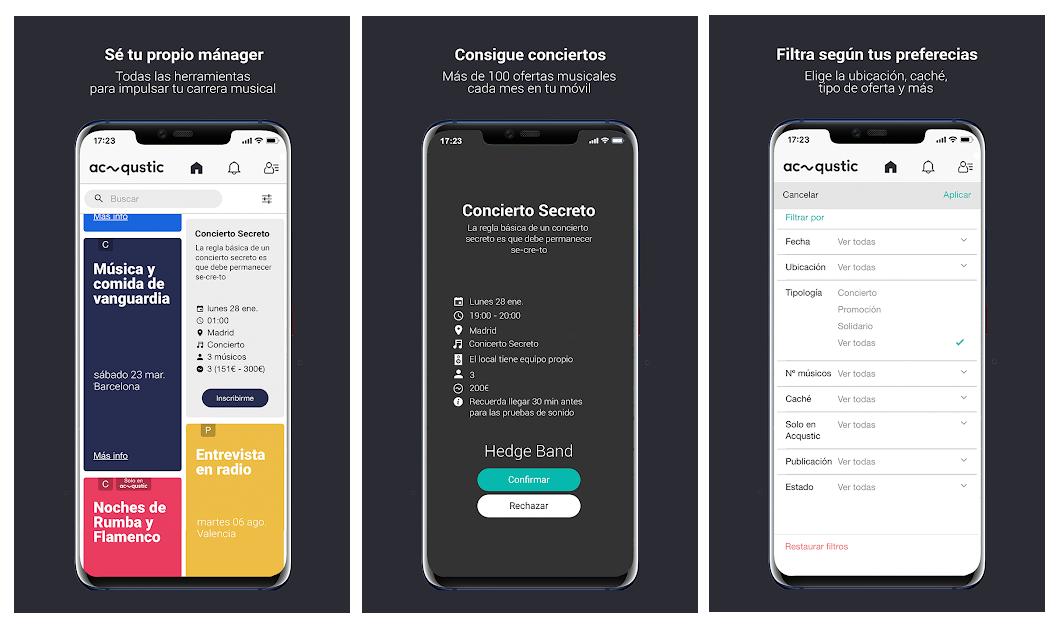 Acqustic levanta 250.000 euros de financiación y lanza una app para que los músicos sean sus propios managers