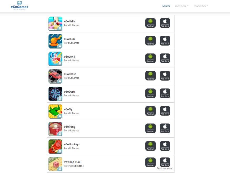 eGoGames, la plataforma que convierte los juegos móviles de habilidad en eSports
