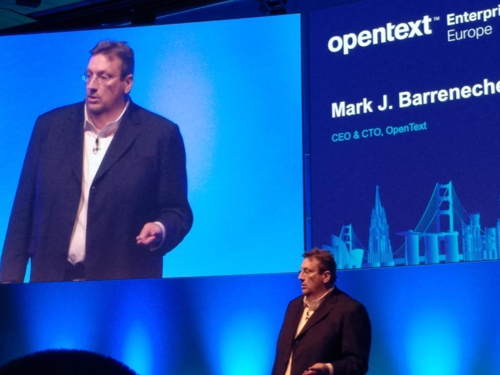"""Mark Barrenechea, CEO de OpenText: """"Los líderes tecnológicos tenemos que ser responsivos y responsables"""""""