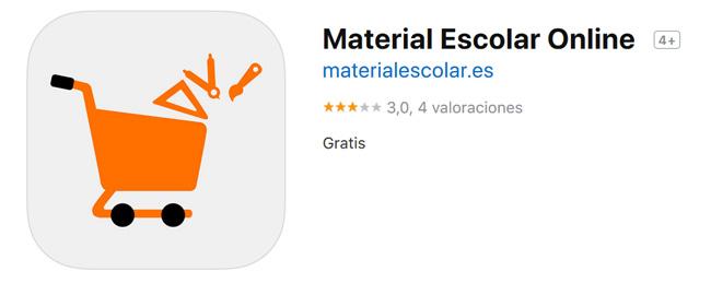 Material Escolar Online, la mejor app de papelería