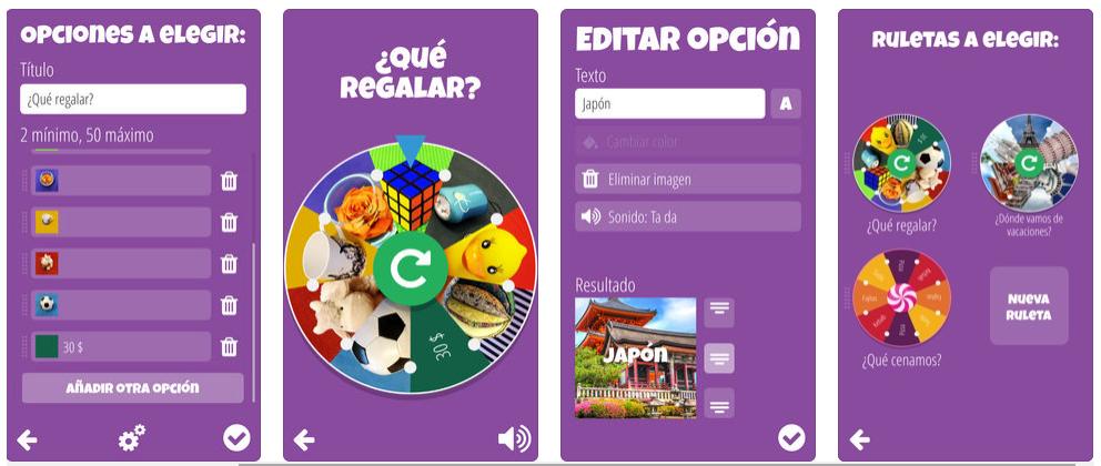 Decision Roulette, la app para indecisos