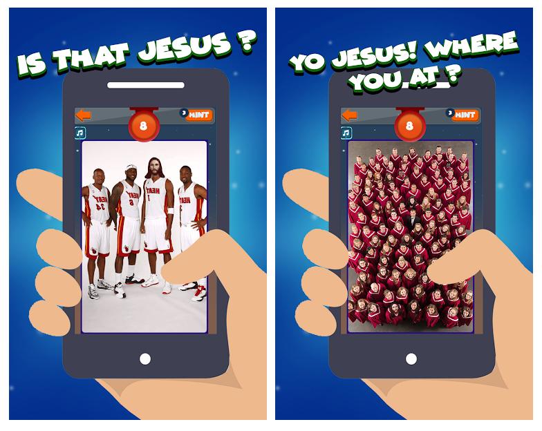 Find Jesus, una app para encontrar al mesías en Semana Santa