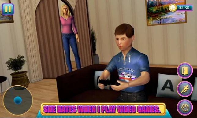 Hello Virtual Mom 3D, el juego donde debes sortear a tu madre para no estudiar