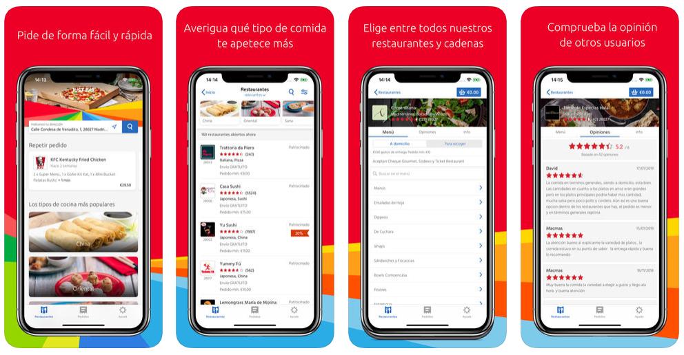 La app de Just Eat ya tramita dos de cada tres pedidos de la compañía