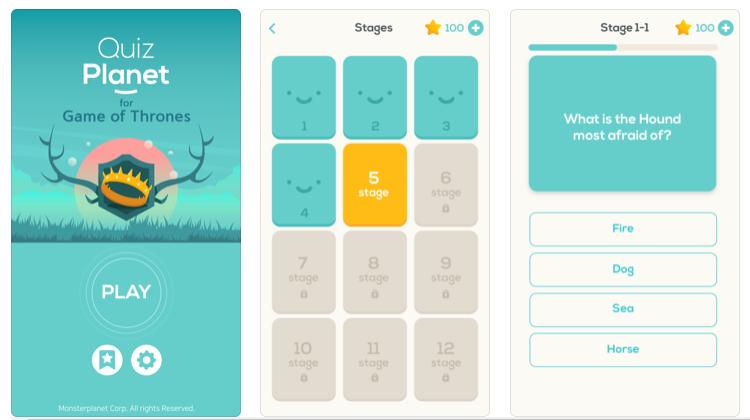 Disfruta Juego de Tronos en tu smartphone con estos juegos