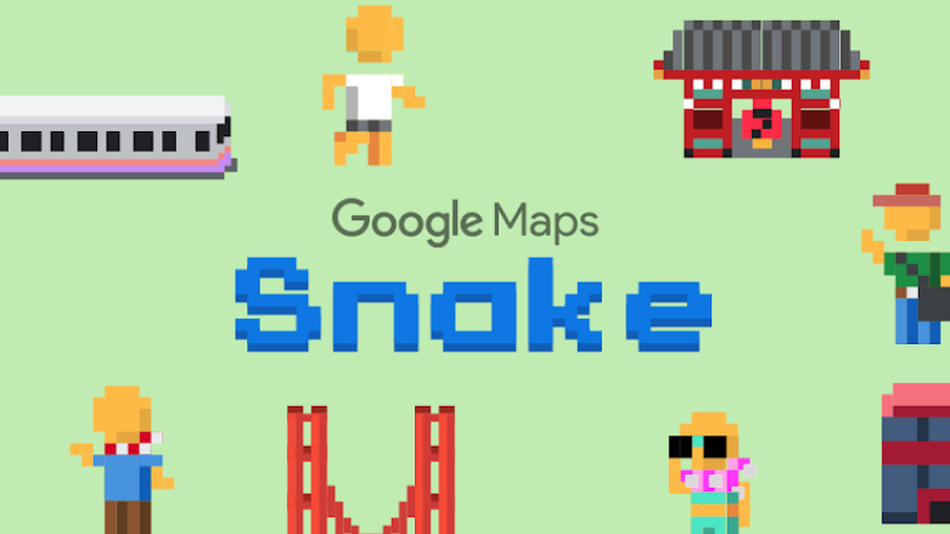 Ya puedes jugar a Snake en Google Maps