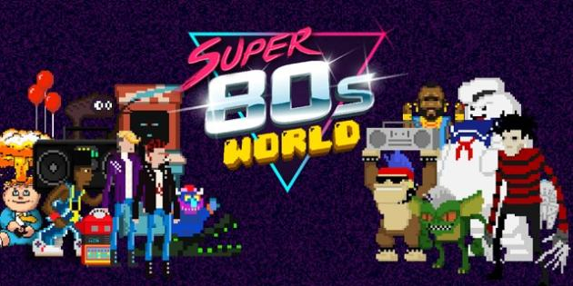 Salva los ochenta con Super 80s World