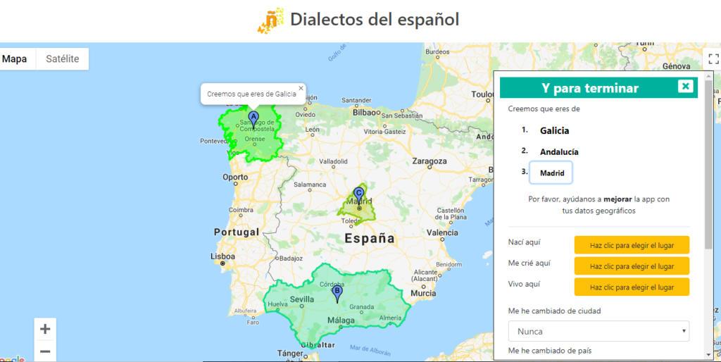 Dialectos del español, la app que te dice tu procedencia por cómo hablas