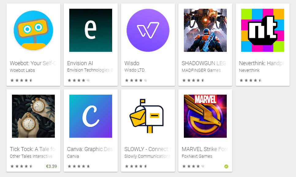 Google Play Awards 2019: Estas son las mejores apps Android del año
