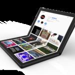 Lenovo muestra el primer PC plegable del mundo