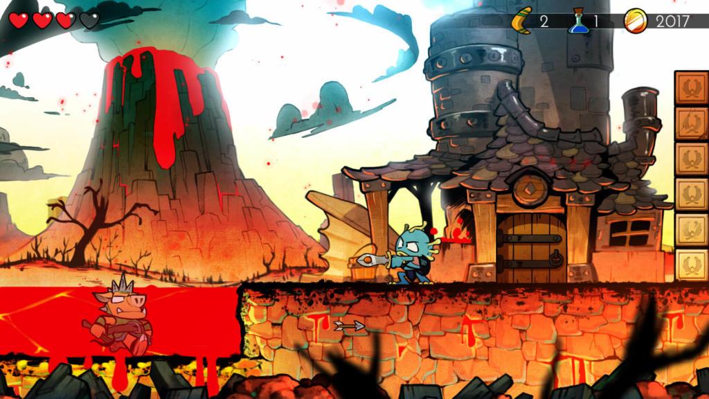 Wonder Boy: The Dragon´s Trap aterriza en iOS y Android