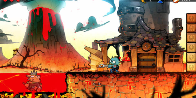 Wonder Boy: The Dragon´s Trap aterriza en iOS y Android