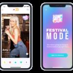 Tinder lanza una función para ligar en festivales
