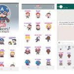 Consigue los stickers de Vengadores: Endgame con esta app