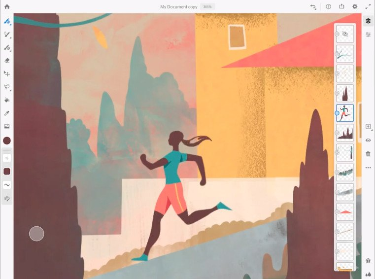 Fresco, la nueva app para pintar de Adobe, llegará a finales de año