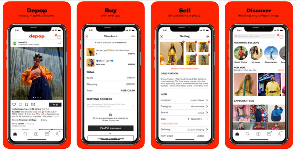 La app de compraventa de ropa Depop levanta 62 millones de dólares de fondos