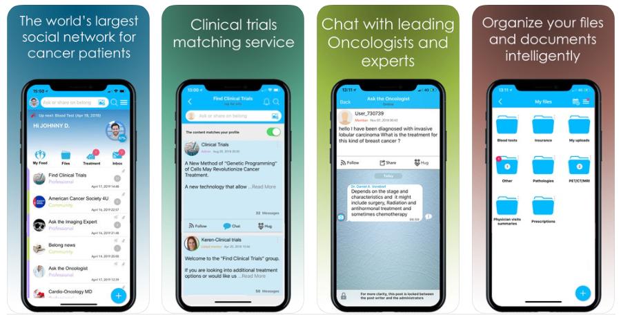 La app de asistencia a pacientes con cáncer Belong.Life recauda 14 millones de dólares