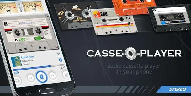 Casse-o-player, el reproductor de música retro para los fans de los casetes