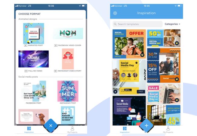 La plataforma de diseño gráfico Crello lanza una app para iOS