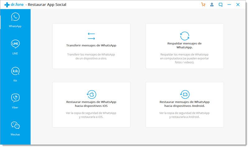 Cómo pasar datos de WhatsApp entre iOS y Android