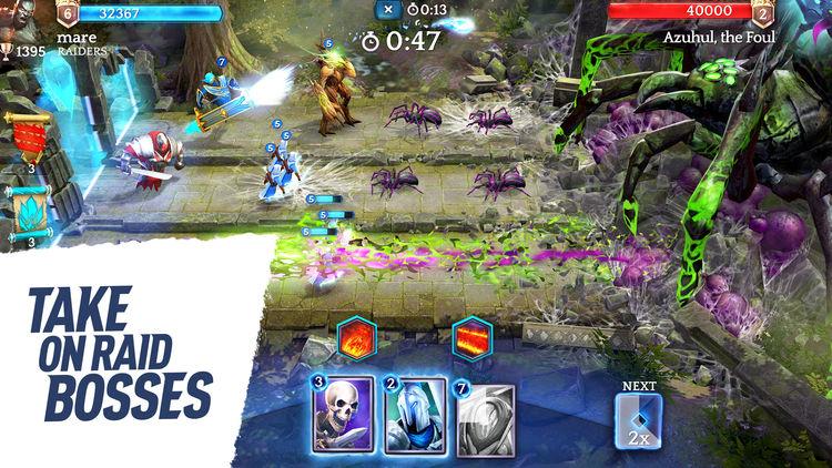Ya disponible Heroic- Magic Duel, lo último de los creadores de Top Eleven