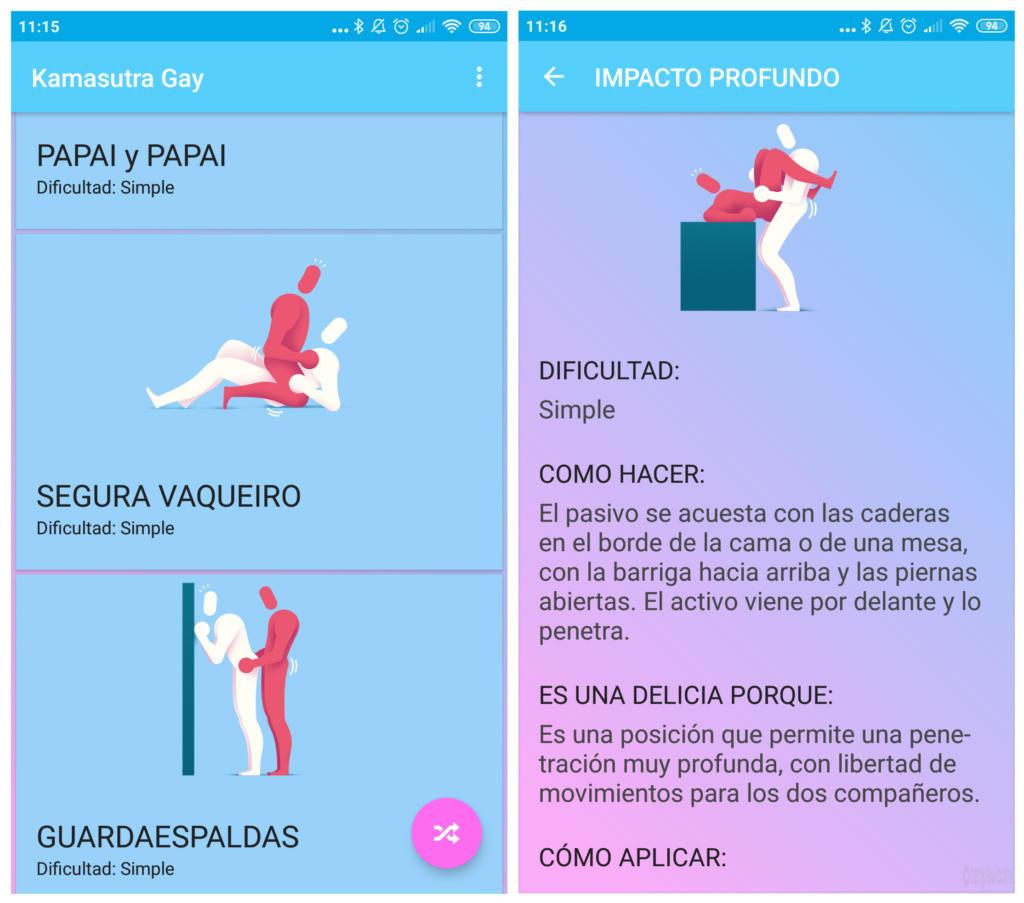 Kamasutra Gay, la app para practicar posturas sexuales con tu pareja