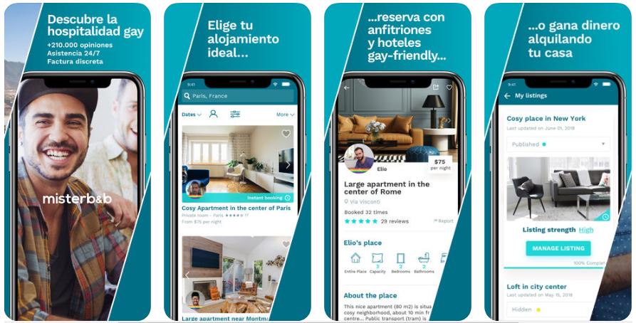 misterb&b, la app para encontrar alojamientos privados y hoteles gay-friendly