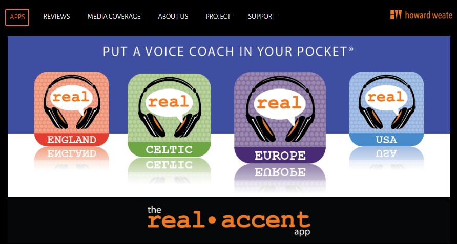 Aprende a hablar inglés con todos los acentos gracias a The Real Accent App