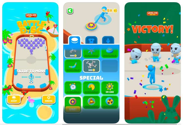 Battle Disc, la batalla de los discos voladores se juega en tu smartphone