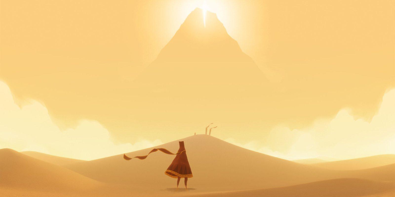Journey inicia su travesía por el desierto en iOS