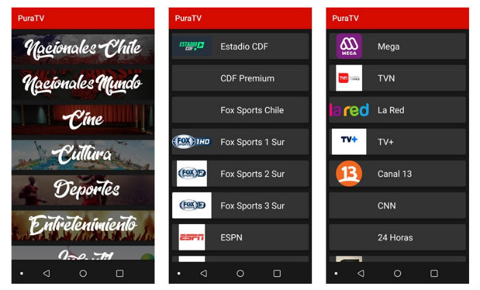 PuraTV, una app para ver cine y series en streaming gratis y de forma legal