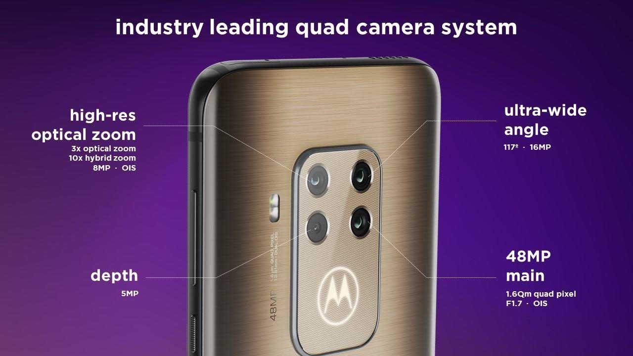 Así es Motorola One Zoom, el primer teléfono de la marca con Alexa y cuádruple cámara