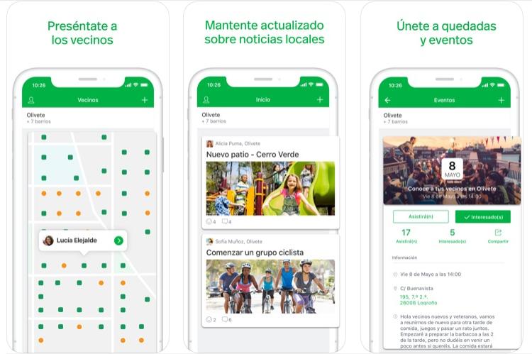 Nextdoor cierra su primer año en España llegando a más de 3.000 barrios