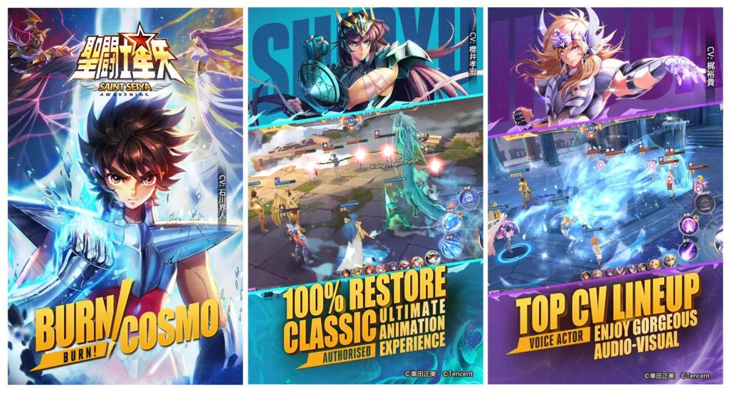 Saint Seiya Awakening Un Juego Móvil Que Por Fin Hace Justicia A Los Caballeros Del Zodiaco Applicantes Información Sobre Apps Y Juegos Para Móviles