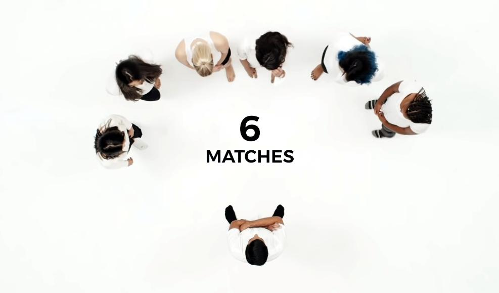 Si usas Tinder deberías ver qué pasó en este experimento de matches cara a cara