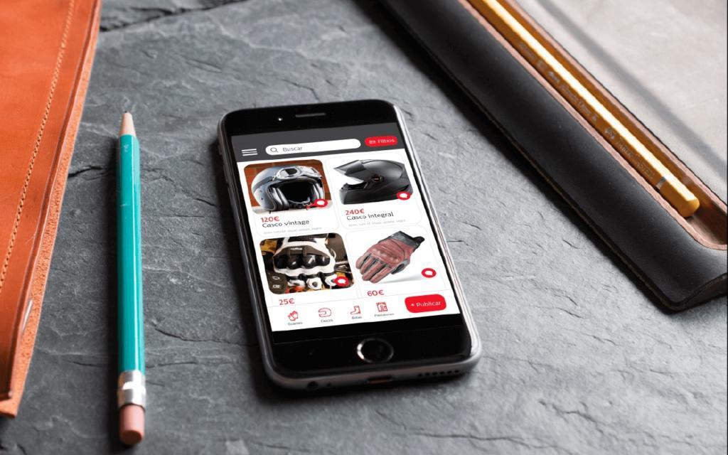 Nace Uves, la app de compraventa de equipación para moteros