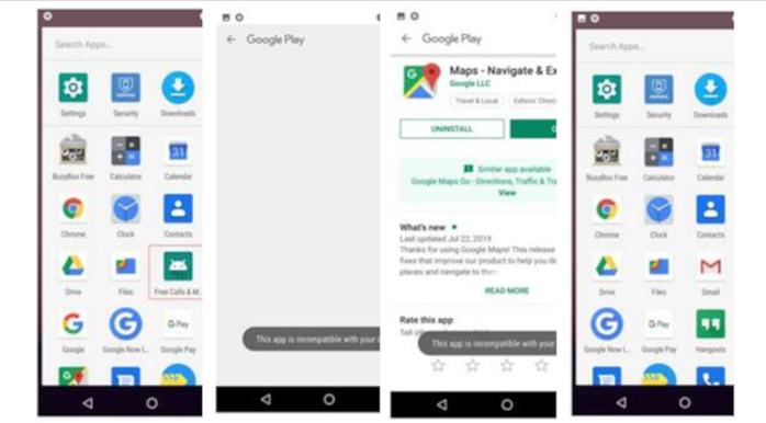 Sophos descubre 15 apps en Google Play que se escondían sirviéndose de adware