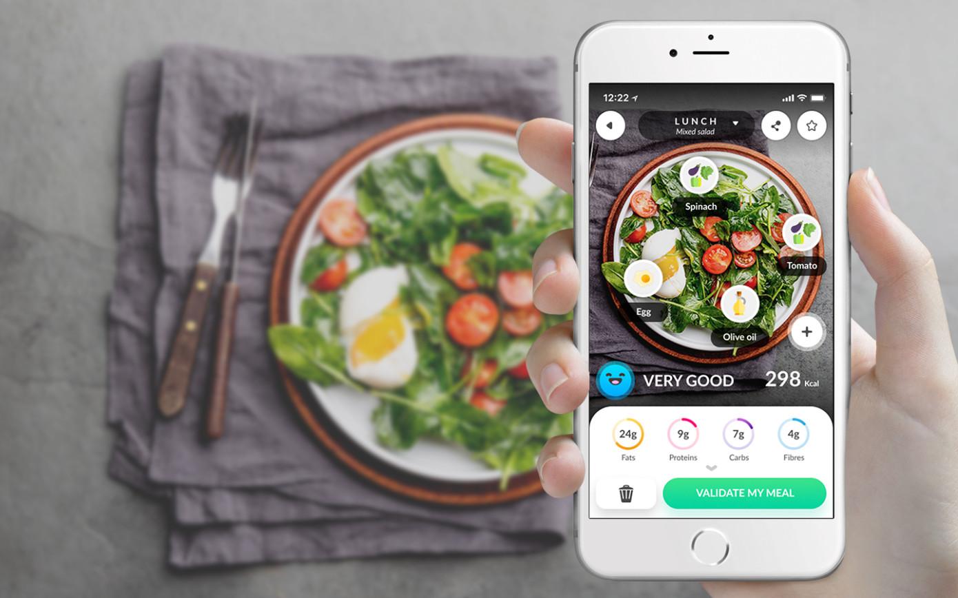 Foodvisor sabe exactamente lo que comes con solo hacer una foto a tu plato