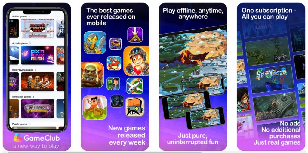 GameClub, el Apple Arcade para los fans de los juegos retro