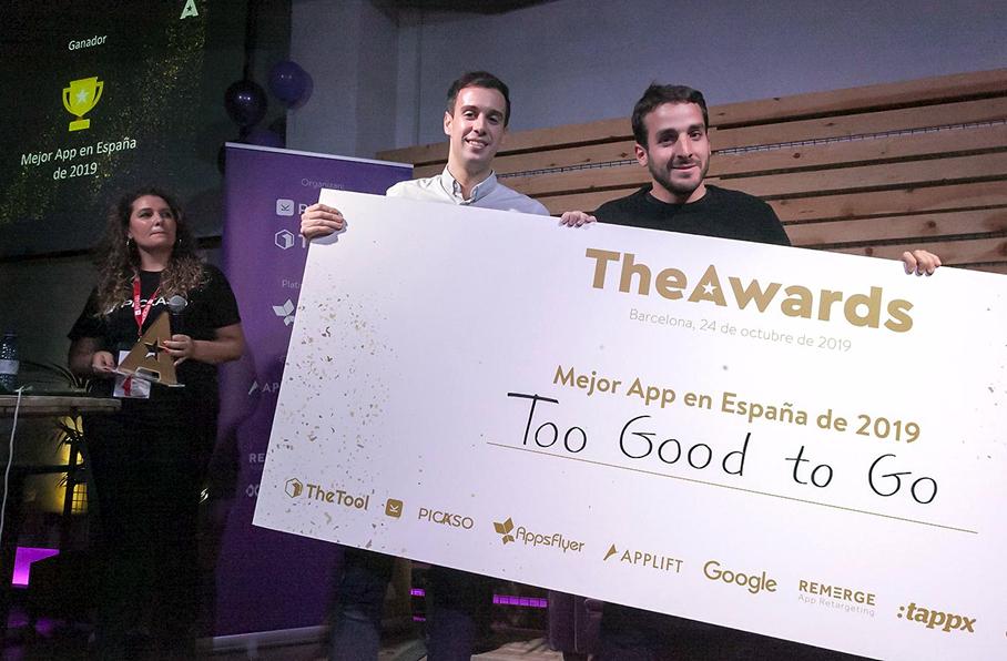 Too Good To Go, escogida como la mejor app en España de 2019