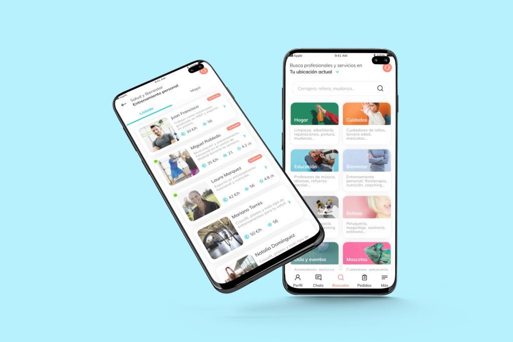 Boomva, la nueva app para contratar profesionales a domicilio