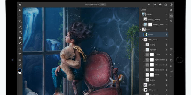 Adobe Photoshop llega al iPad